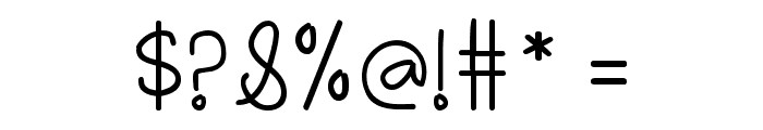 Oh_Hello_Dya Font OTHER CHARS