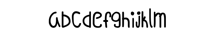 Oh_Hello_Vickie Font LOWERCASE
