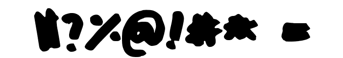 Oh_Snap Font OTHER CHARS