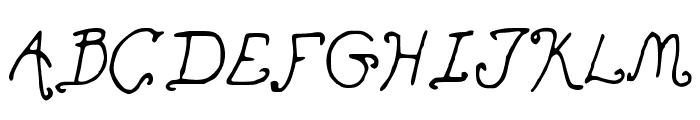 Ohmai Font UPPERCASE