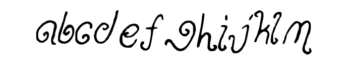 Ohmai Font LOWERCASE
