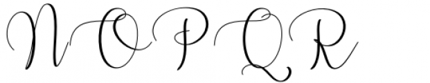 Oh Claristta Regular Font UPPERCASE