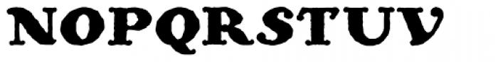 Ohio Bold Font UPPERCASE