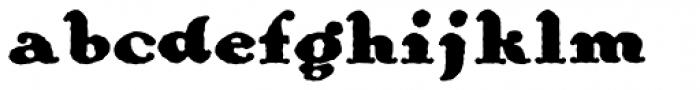 Ohio Bold Font LOWERCASE