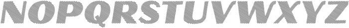 Oilvare Hatch Shadow otf (400) Font UPPERCASE