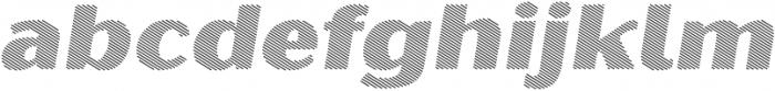 Oilvare Hatch Shadow otf (400) Font LOWERCASE