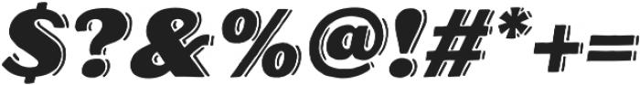 Oilvare Shadowed otf (400) Font OTHER CHARS