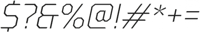Oita otf (300) Font OTHER CHARS