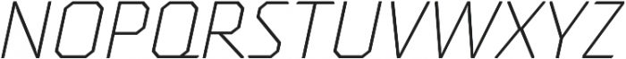 Oita otf (300) Font UPPERCASE