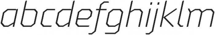 Oita otf (300) Font LOWERCASE