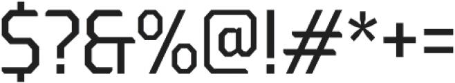 Oita otf (400) Font OTHER CHARS