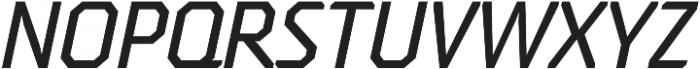 Oita otf (500) Font UPPERCASE