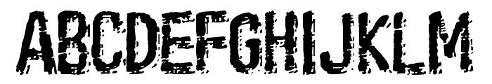 Oil Age Heiroglyphs Font UPPERCASE