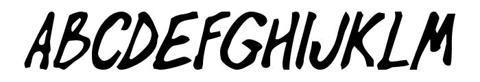 OilBats Basic Font UPPERCASE