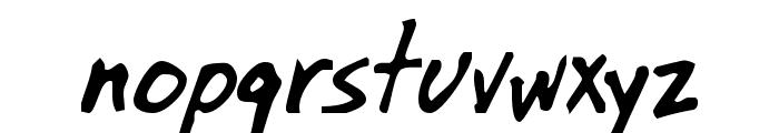 OilBats Basic Font LOWERCASE