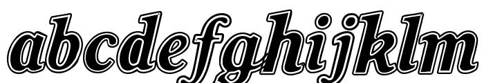 oil Font UPPERCASE