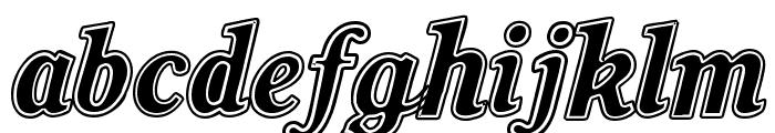 oil Font LOWERCASE