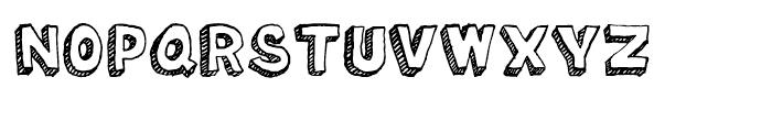 Oil Change Regular Font UPPERCASE