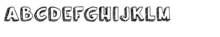 Oil Change Regular Font LOWERCASE