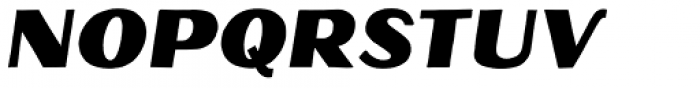 Oilvare Base Italic Font UPPERCASE