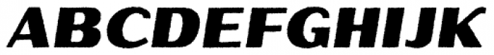 Oilvare Base Rough Italic Font UPPERCASE