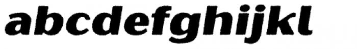 Oilvare Base Rough Italic Font LOWERCASE