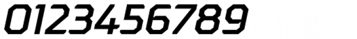 Oita Expanded Demi Italic Font OTHER CHARS