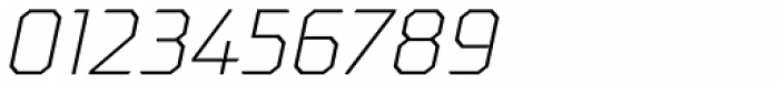 Oita Expanded Light Italic Font OTHER CHARS