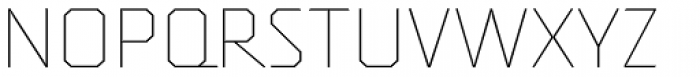 Oita Expanded Thin Font UPPERCASE