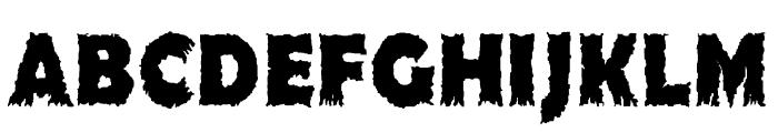 Ojovanic Bold Font UPPERCASE