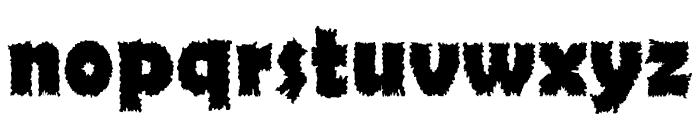 Ojovanic Bold Font LOWERCASE