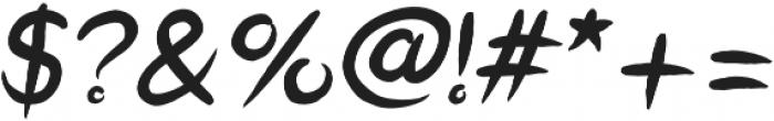 Okashi italic otf (400) Font OTHER CHARS