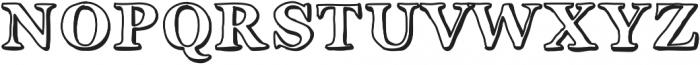 Okay ttf (400) Font UPPERCASE