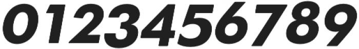 OkojoDisplay Bold Italic otf (700) Font OTHER CHARS