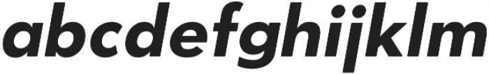 OkojoDisplay Bold Italic otf (700) Font LOWERCASE