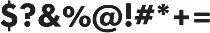 OkojoDisplay Bold otf (700) Font OTHER CHARS
