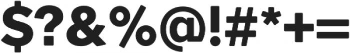 OkojoProDisplay otf (700) Font OTHER CHARS