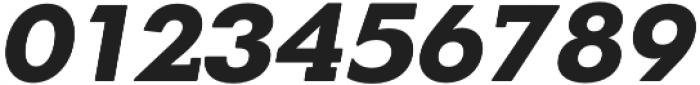 OkojoSlabDisplay Bold Italic otf (700) Font OTHER CHARS