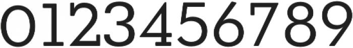 OkojoSlabDisplay Regular otf (400) Font OTHER CHARS