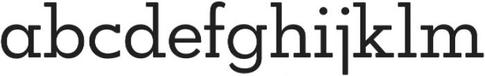 OkojoSlabDisplay Regular otf (400) Font LOWERCASE
