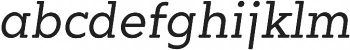 OkojoSlabProDisplay otf (400) Font LOWERCASE