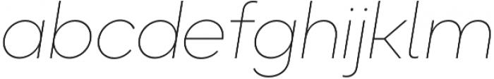 Okta Neue ExtraLight Italic otf (200) Font LOWERCASE
