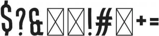 Okurrr Regular otf (400) Font OTHER CHARS
