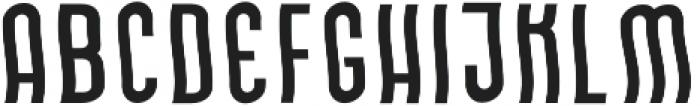 Okurrr Regular otf (400) Font LOWERCASE