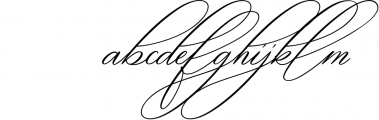 oklahoma calligraphy font Font LOWERCASE