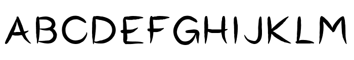 Okashi^ Regular Font UPPERCASE
