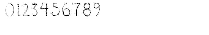 Okay Crayon Font OTHER CHARS