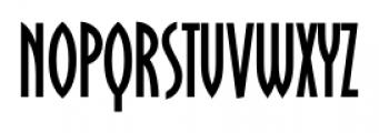Oklahoma Regular Font LOWERCASE