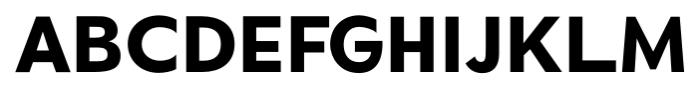 Okojo Pro Bold Font UPPERCASE