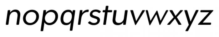 Okojo Pro Display Italic Font LOWERCASE